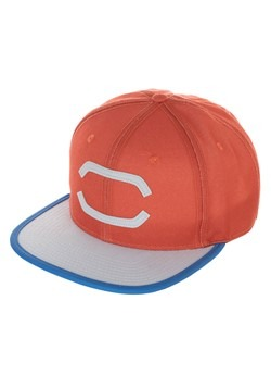 Adult Ash Pokemon Cosplay Snapback Hat