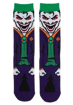 DC Joker Rebirth 360 Character Crew Sock Alt 1
