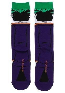 DC Joker Rebirth 360 Character Crew Sock Alt 2