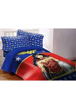 Wonder Woman 3 Piece Twin Size Comforter Set