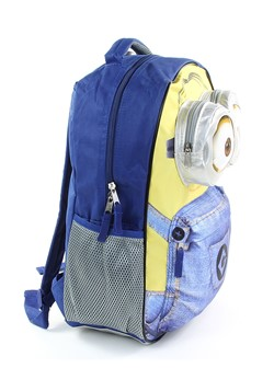 "Kids Minion 16"" Blue/Yellow Backpack Alt 1"