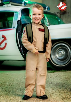 Ghostbusters Toddler Boys Deluxe Costume1