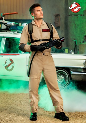 Men's Ghostbusters Plus Size Cosplay Costume