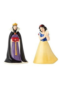Snow White and Evil Queen Salt and Pepper Shaker S