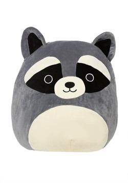 "Squishmallow Rocky the Raccoon 16"" Plush"
