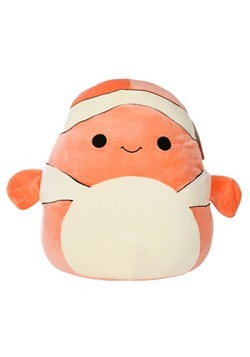 "Squishmallow Ricky the Clown Fish 16"" Plush"
