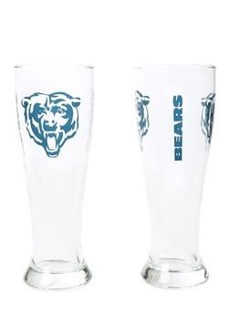 Chicago Bears 16oz Pilsner 2 Pack