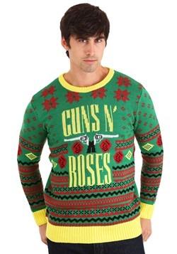 GUNS N ROSES BIG GUNS UGLY CHRISTMAS SWEATER