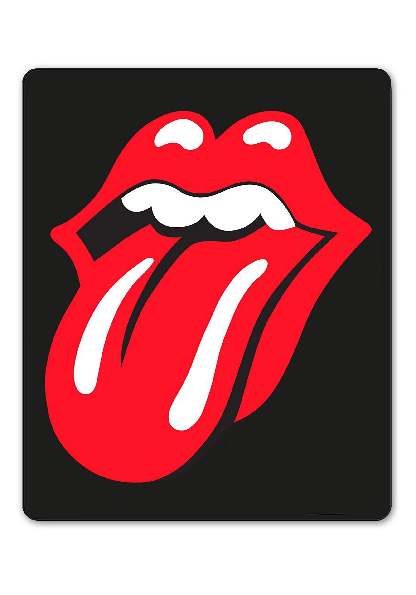 The Rolling Stones Classic Tongue 45in x60in Fleece Throw