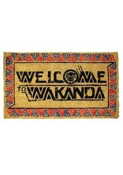 Black Panther Welcome to Wakanda Doormat