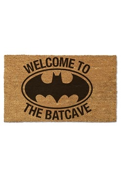 Batman Welcome to the Batcave Doormat