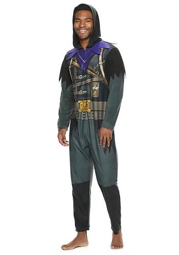 Adult Fortnite Raven Union Suit