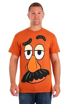 I Am Mr Potato Head Mens Mandarin Orange T Shirt