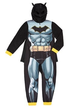 Batman Boys Hooded Union Suit Costume