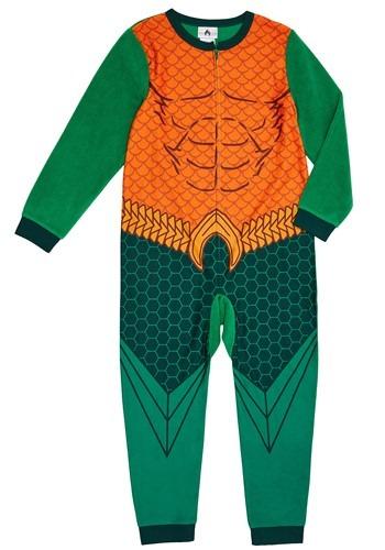 Aquaman Boys Union Suit Costume