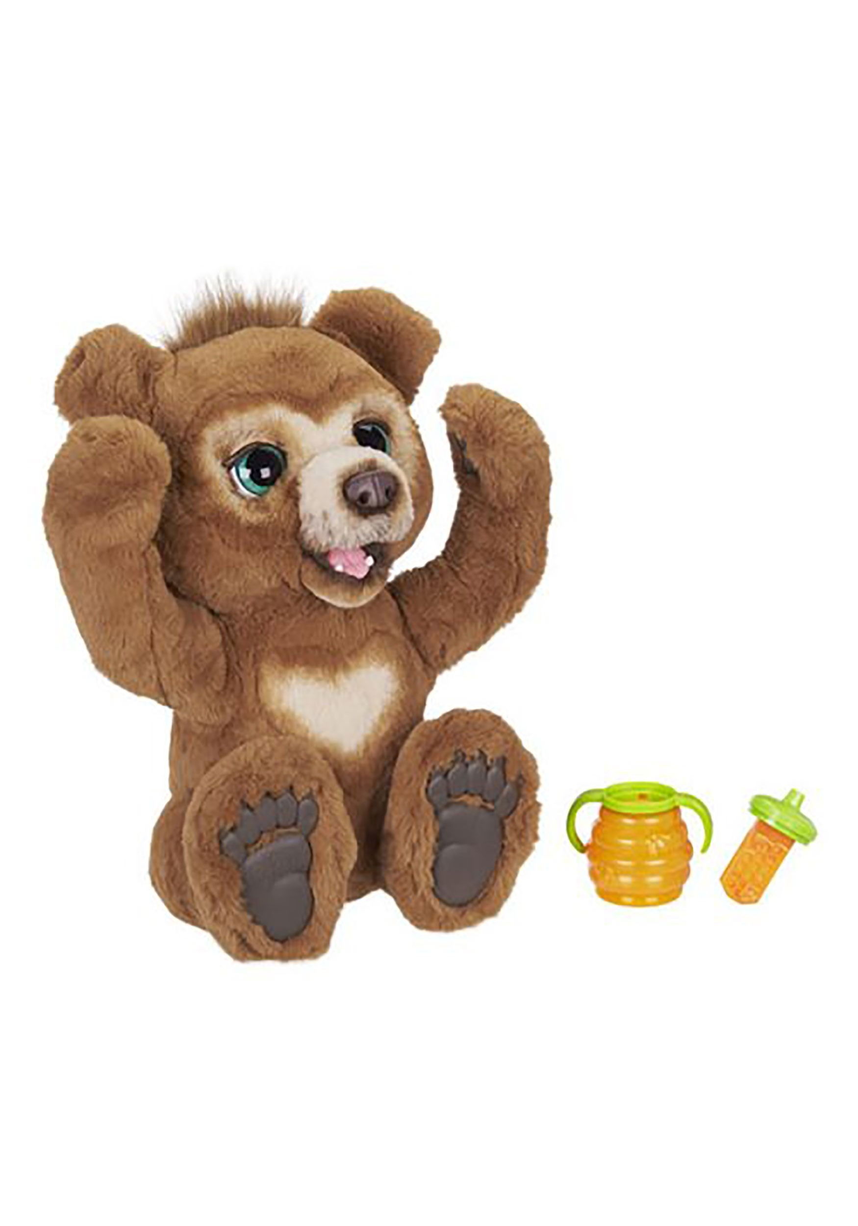 Interactive Cubby the Curious Bear FurReal Stuffed Toy