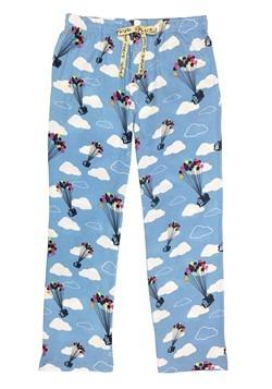 Pixar's Up Cloud Print Light Blue Sleep Pants