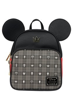 Loungefly Mickey Mouse Kingdom Hearts Faux Leather