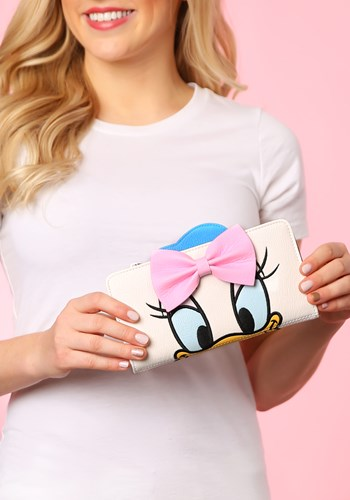Loungefly Donald and Daisy Duck Double Sided Wallet upd