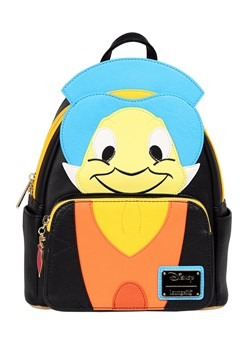 Pinocchio Jiminy Cricket Faux Leather Mini Backpack