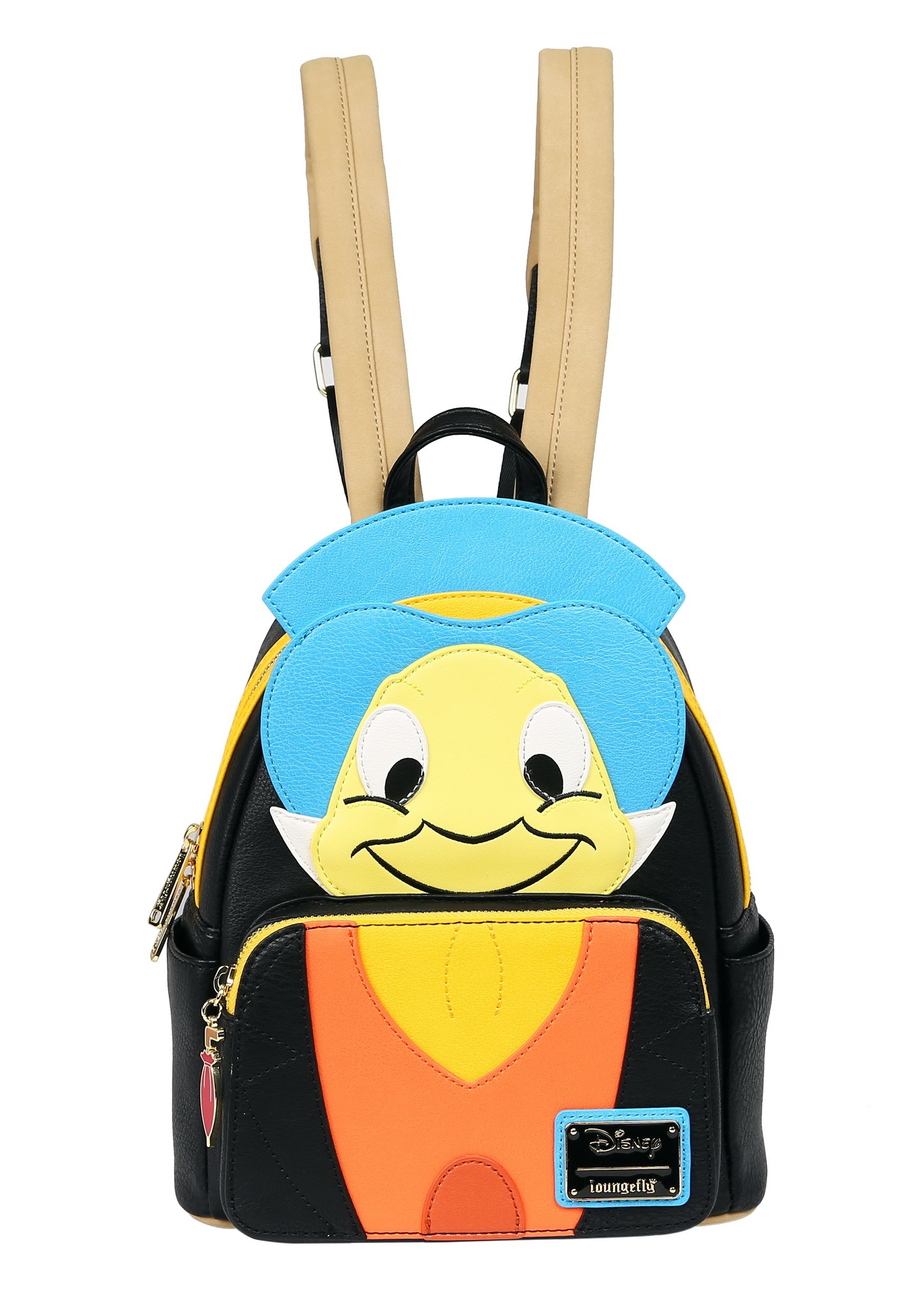 Loungefly Jiminy Cricket Pinocchio Faux Leather Mini Backpack