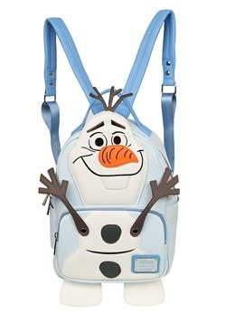Loungefly Frozen Olaf Faux Leather Mini Backpack
