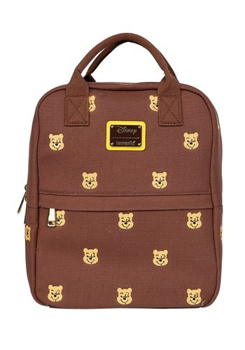 Loungefly Winnie the Pooh Canvas Mini Backpack
