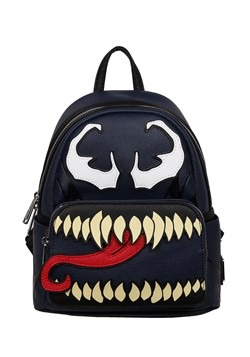 Loungefly Marvel Venom Faux Leather Mini Backpack