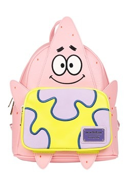 Loungefly Spongebob Patrick Faux Leather Mini Back