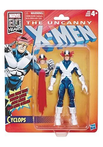 X-Men Legends Retro Cyclops 6in Action Figure