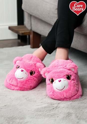 Adult Cheer Bear Care Bears Slippers-1