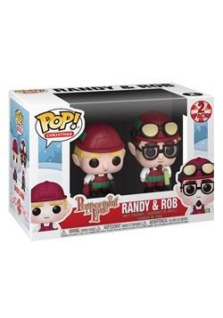 Pop! Funko: Holiday- 2PK Randy & Rob