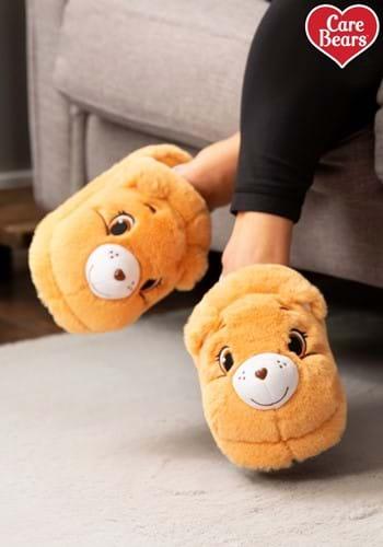 Adult Tenderheart Care Bear Slippers