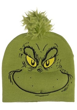 The Grinch Big Face Beanie