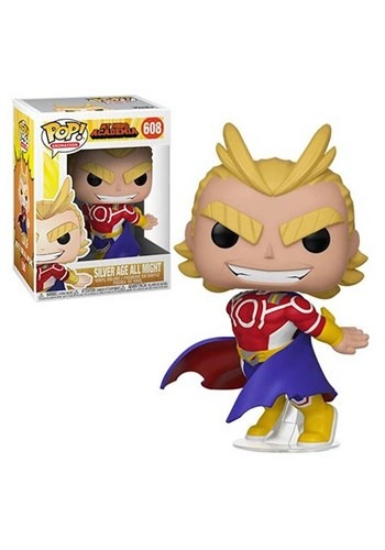 Pop! Animation: My Hero Academia- All Might (Silver Age) upd