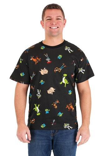 Toy Story All Over Print Mens T-Shirt
