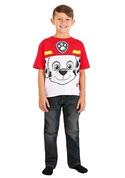 Paw Patrol Marshall Big Face Cut & Sew T-Shirt