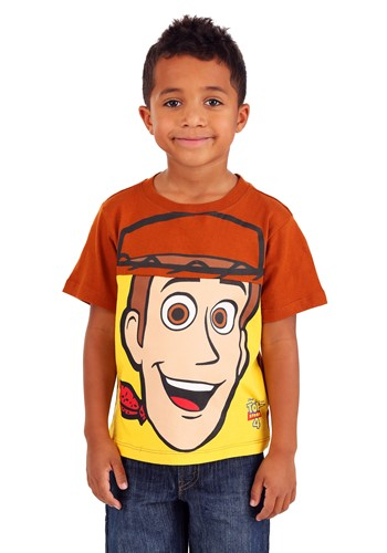 Toy Story Woody Big Face Boys T-Shirt