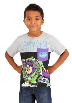 Toy Story Buzz Lightyear Boys Pocket T-Shirt
