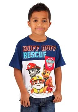 Paw Patrol Ruff Ruff Rescue Boys Pocket T-Shirt-Update