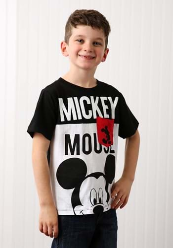 Mickey Mouse Boys Pocket T-Shirt