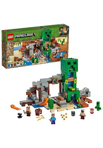 Minecraft LEGO The Creeper Mine Set