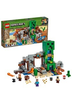 Minecraft LEGO The Creeper Mine Set