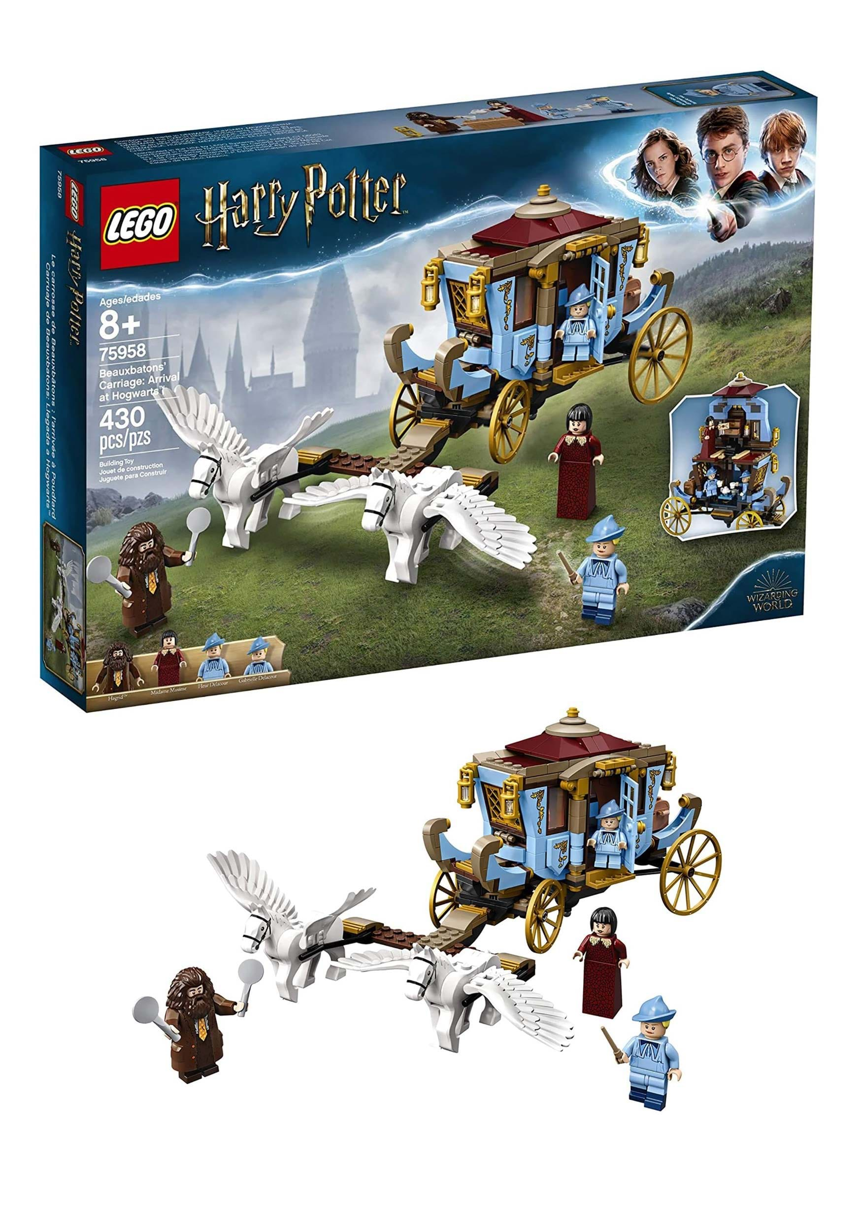 Lego Harry Potter Beauxbaton S Carriage Arrival At Hogwarts