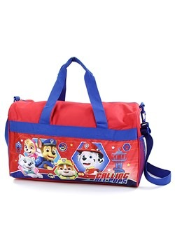 "Red/Blue Paw Patrol Boys 18"" Duffel Bag"