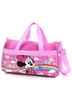 "Minnie Mouse Girls 18"" Pink Duffel Bag"