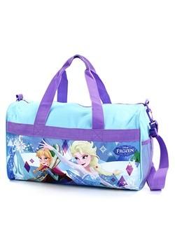 """Frozen Girls 18"""" Blue Duffel Bag"""