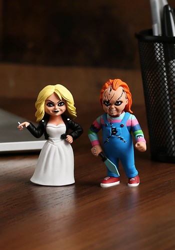 Toony Terrors 2 Pack Bride of Chucky 3 Action Figures upd