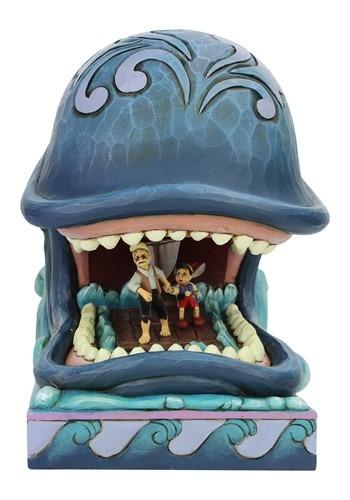 Monstro Gepetto and Pinocchio Jim Shore Statue