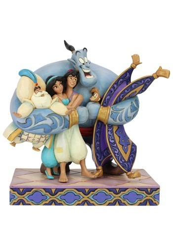 Aladdin Group Hug Jim Shore Statue